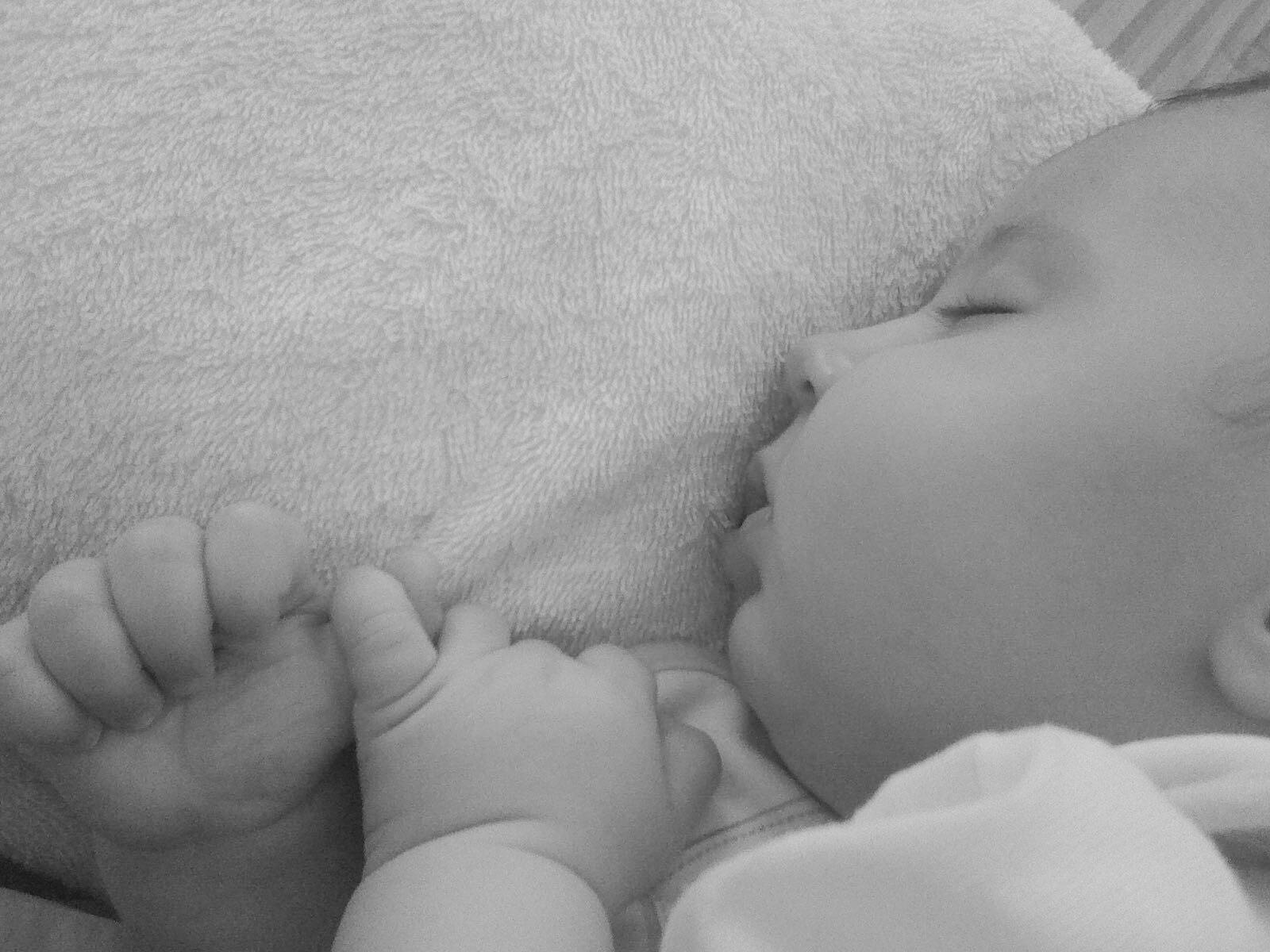 esperienza di allattamento Federica