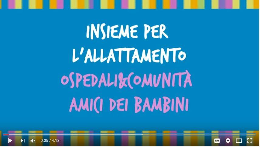 Allattare al seno è bello... parola di mamma! UNICEF Italia