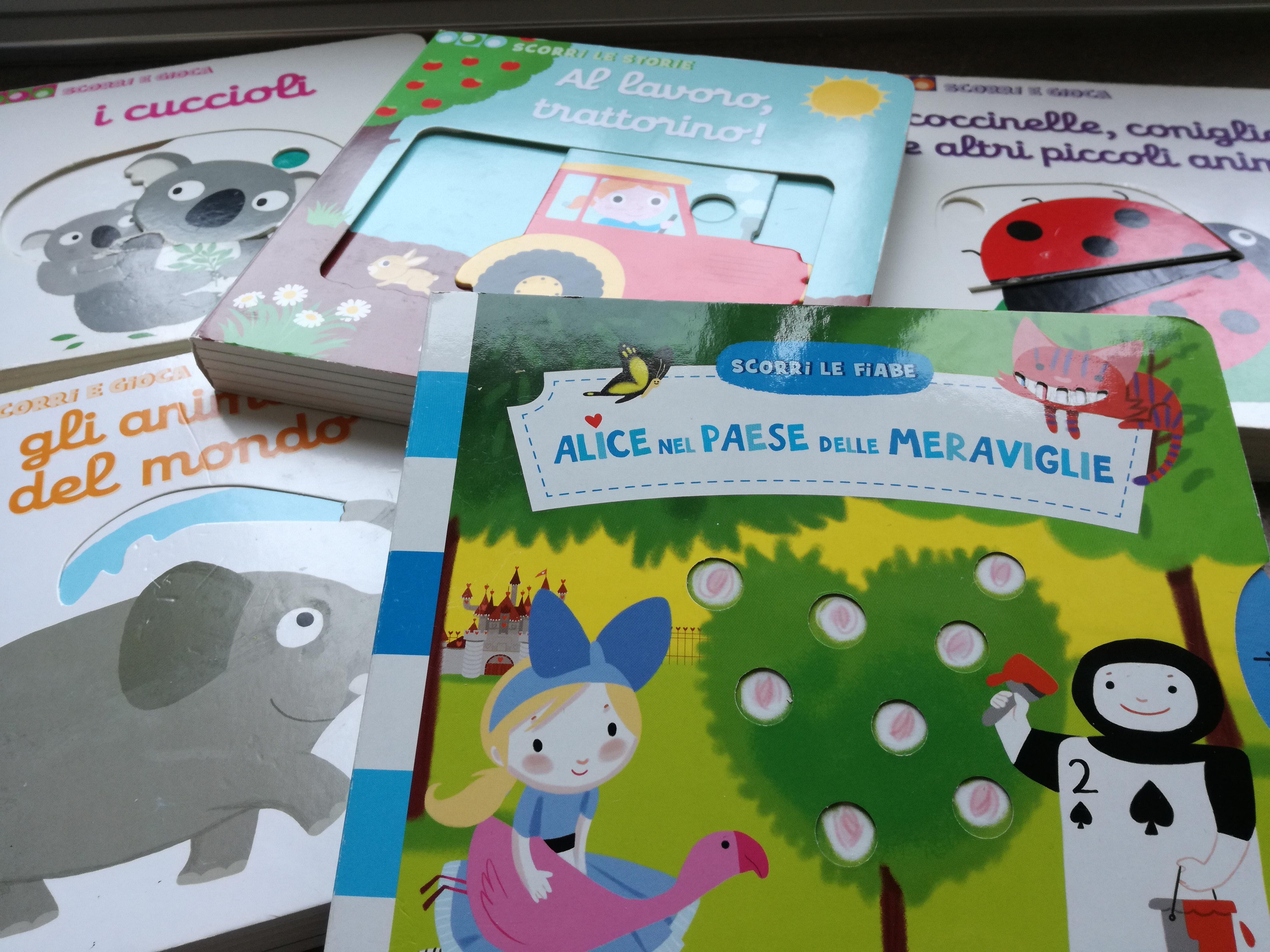 libri interattivi per bambini Gallucci scorri e gioca
