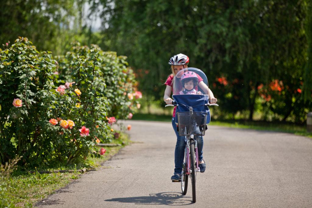 seggiolino per la bicicletta
