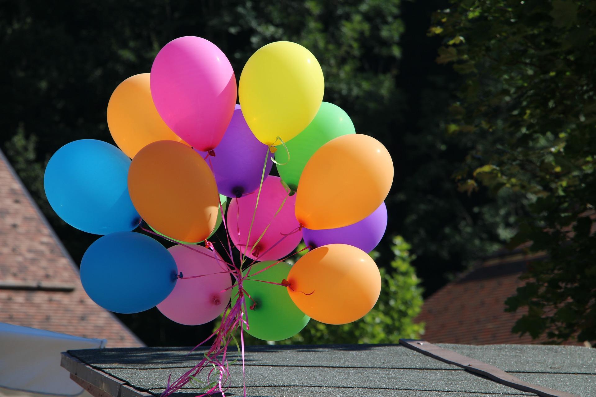 festa di compleanno due anni palloncini