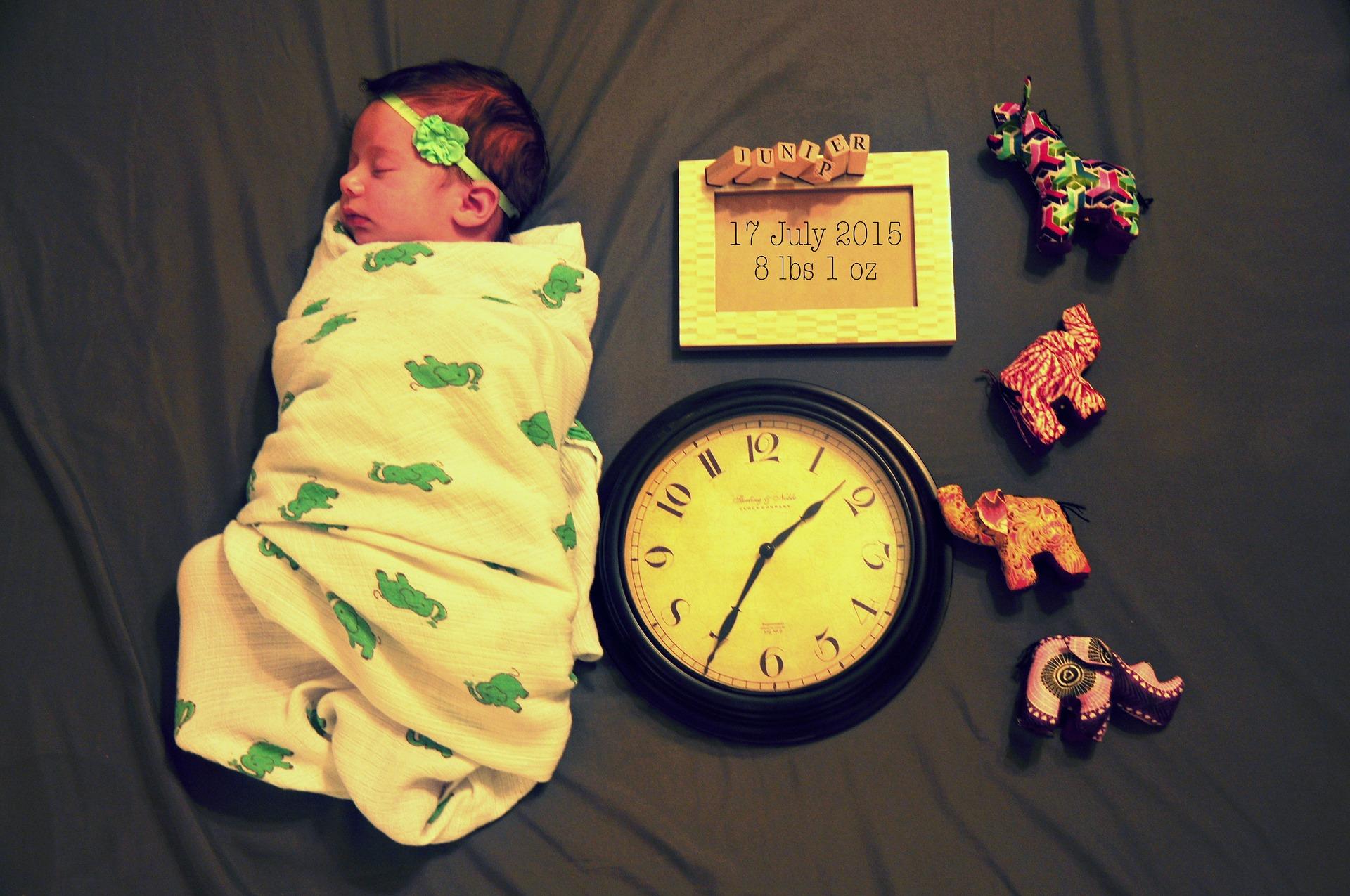 swaddling: fasciare i neonati