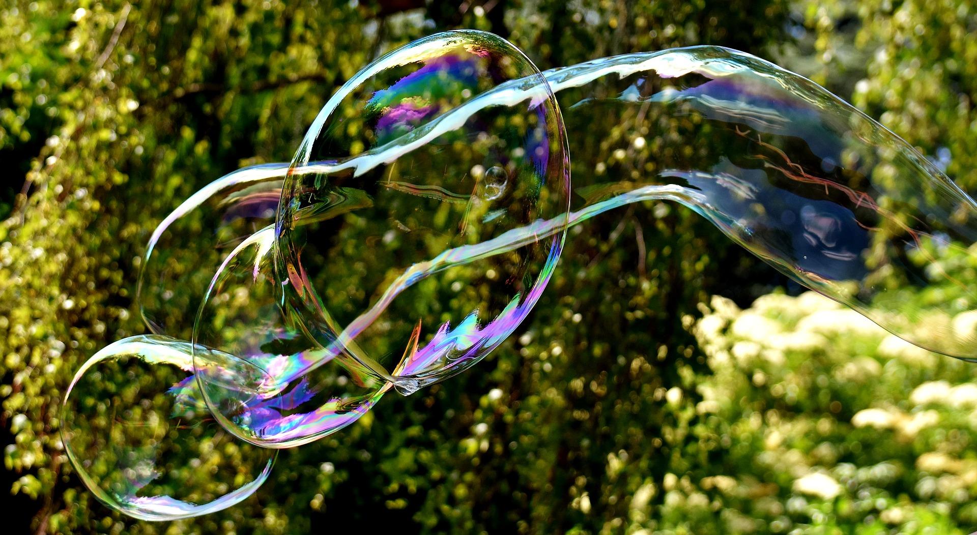 festa di compleanno due anni bolle di sapone
