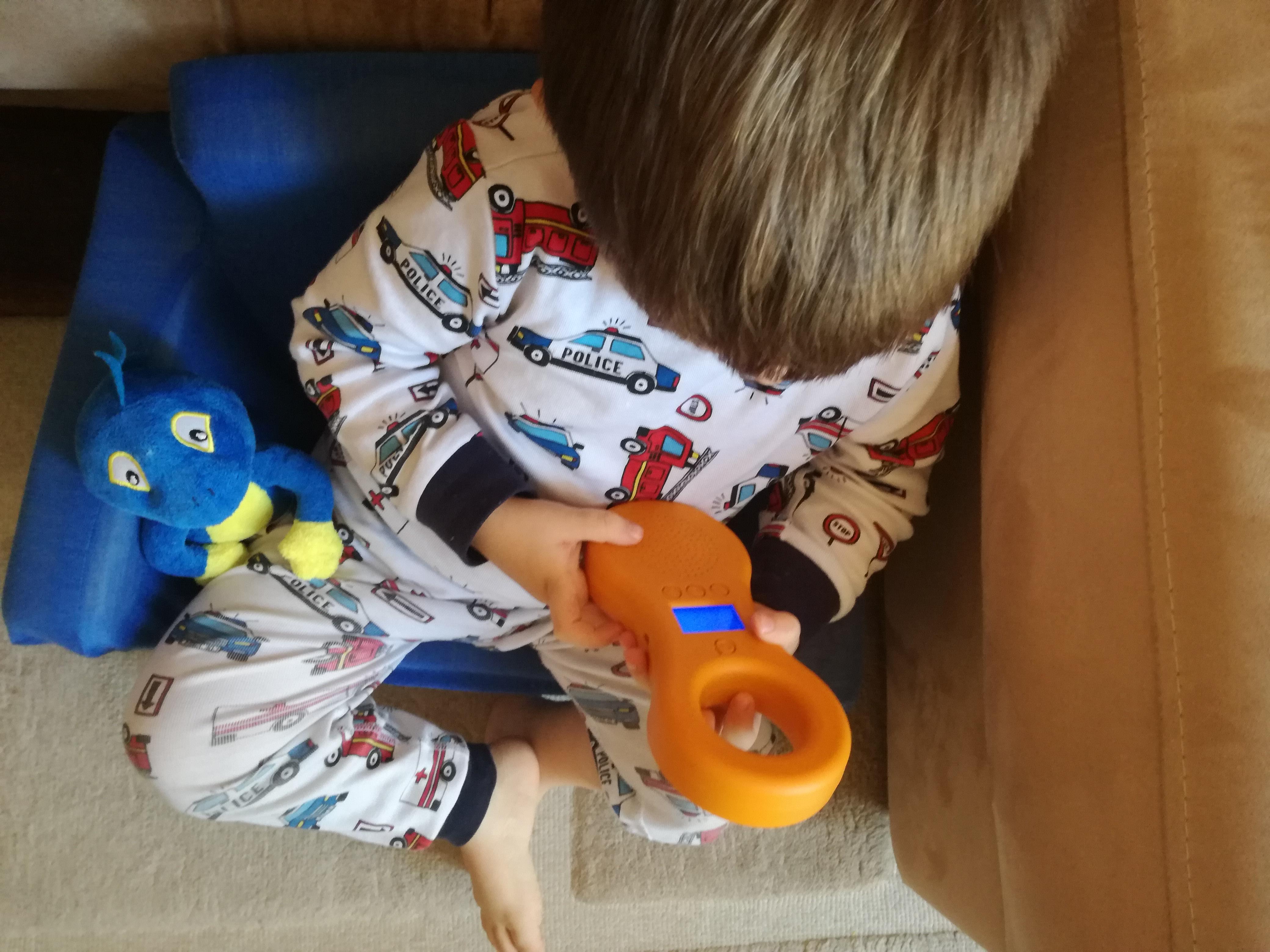 ocarina lettore mp3 per bambini paky