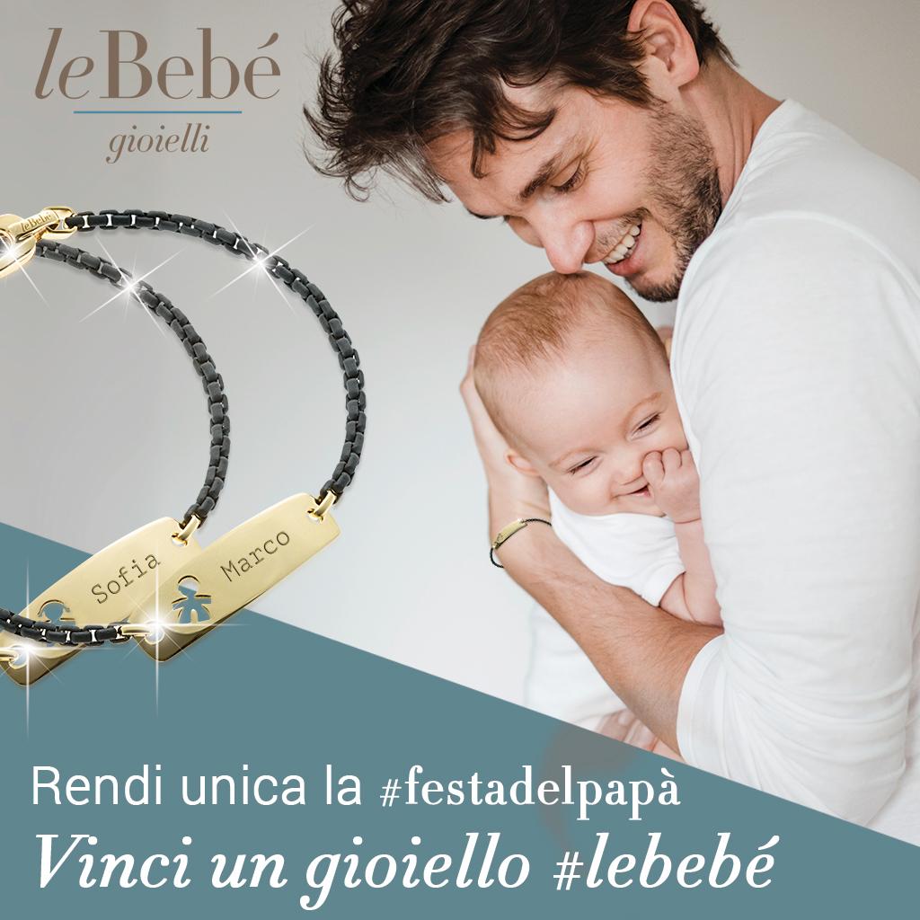 le bebè fotocontest festa del papà
